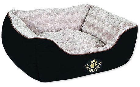 Pelíšek SCRUFFS Wilton Box Bed černý S 1ks