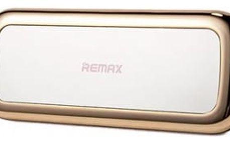 Remax powerbanka RPP-36 Mirror, 10000 mAh, gold