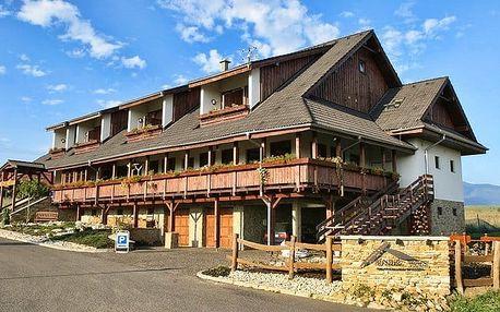 3 až 5denní wellness pobyt pro 2 s polopenzí a slevami v hotelu Rendez-Vous na Liptově