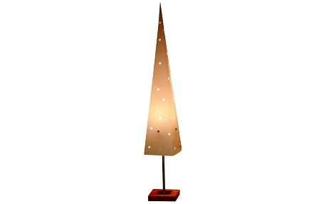 Svítící kužel se stojanem Best Season Cone Top, 80 cm