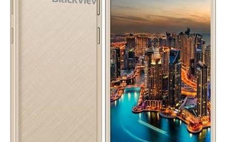 Mobilní telefon iGET BLACKVIEW GA7 (84000417) zlatý