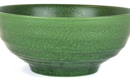 Zelená keramická miska Made In Japan Earth Green, ⌀19cm