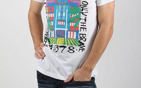 Tričko Diesel Snt-Funny Maglietta Bílá