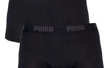 Boxerky Puma Basic Shortboxer 2 Pack black