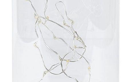 Lucerna s LED světýlky Villa Collection Frozen, 18 cm
