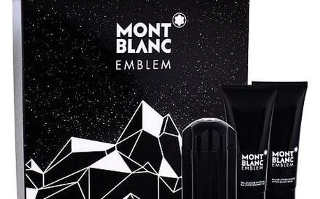 Montblanc Emblem EDT dárková sada M - EDT 100 ml + balzám po holení 100 ml + sprchový gel 100 ml