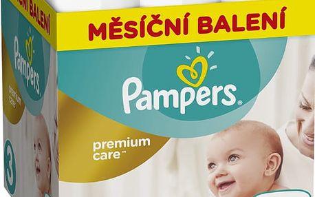 Pampers Pleny Premium Care 3 (Midi) - 204 ks