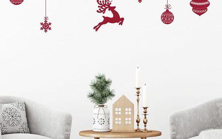Vánoční samolepky Fanastick Style Scandinave