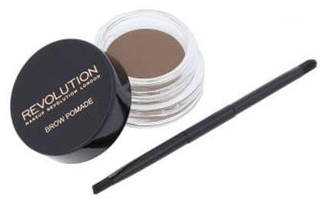 Makeup Revolution London Brow Pomade 2,5 g úprava obočí pro ženy Blonde