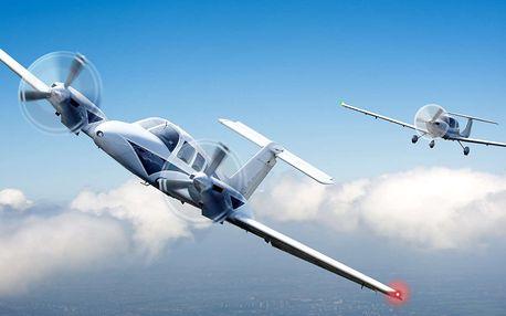 Pilotování letadla nebo vyhlídkový let pro 2 osoby