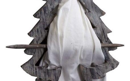 Dekorace na závěsy Antic Line Christmas tree