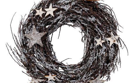 Dekorativní věnec Clayre & Eef Christmas Garland, Ø 27 cm