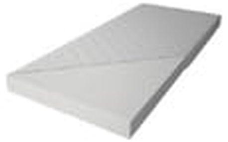 Patrová postel RICO 90x200 cm, borovice/zelená Pěnová matrace