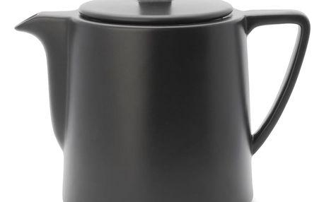 Černá konvice se sítkem na sypaný čaj Bredemeijer Lund, 1 l - doprava zdarma!