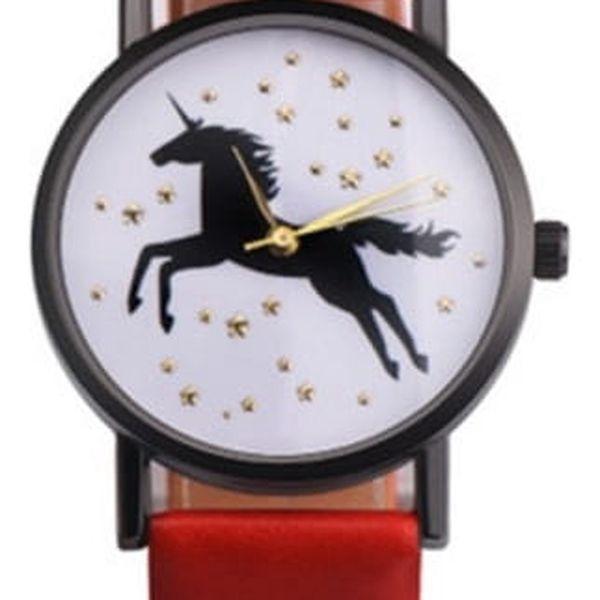 Dámské hodinky s jednorožcem - 3 barvy
