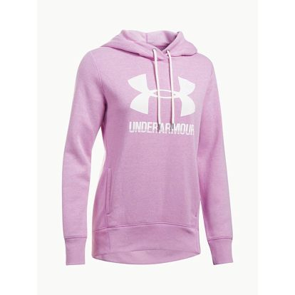 Mikina Under Armour Favorite Fleece PO Růžová