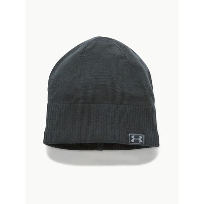 Čepice Under Armour Men's Reactor Knit Beanie Šedá