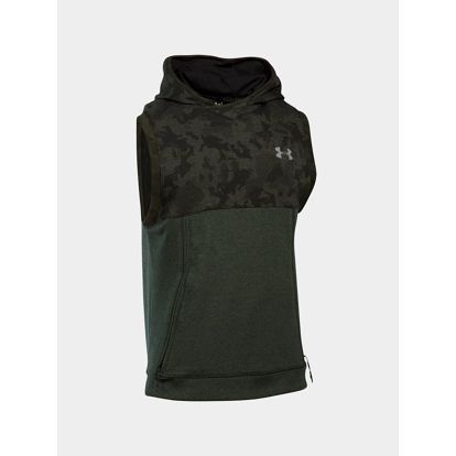 Mikina Under Armour Threadborne Sleeveless PO Zelená