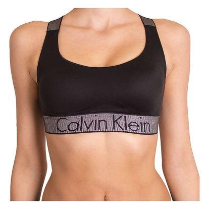 Dámská podprsenka Calvin Klein Lightly Lined černá M