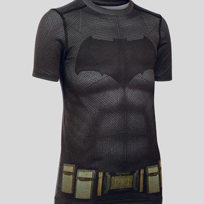 Tričko Under Armour Batman Suit SS Černá
