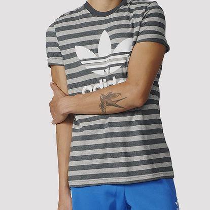 Tričko adidas Originals STRIPED TEE Barevná
