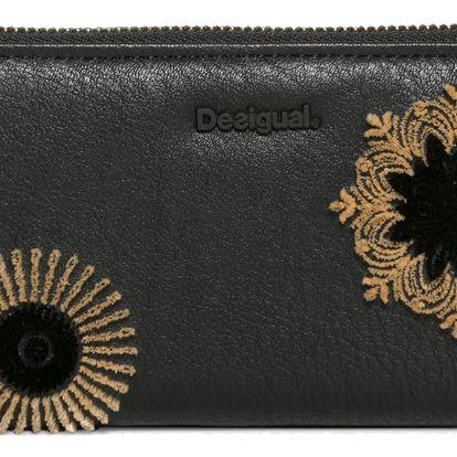 Desigual černá peněženka Fiona Rubi