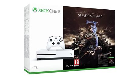 Herní konzole Microsoft 1 TB + Middle-earth: Shadow of War (234-00189) + DOPRAVA ZDARMA