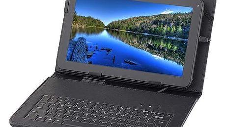"""Pouzdro na tablet s klávesnicí GoGEN univerzal 10,1"""", polohovací (GOGTA10KEYBOARD) černé"""