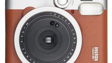 Fujifilm Instax Mini 90, hnědý
