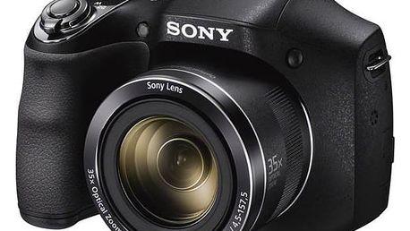 Digitální fotoaparát Sony DSC-H300 černý + Doprava zdarma