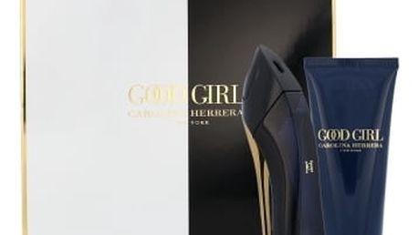 Carolina Herrera Good Girl dárková kazeta pro ženy parfémovaná voda 80 ml + tělové mléko 100 ml