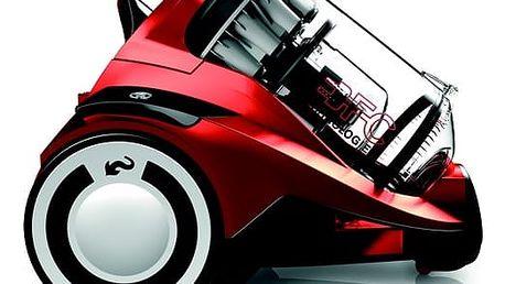 Vysavač podlahový Dirt Devil Rebel 55HFC červený + dárek Turbohubice vzduchová Dirt Devil M219 plast v hodnotě 529 Kč + DOPRAVA ZDARMA