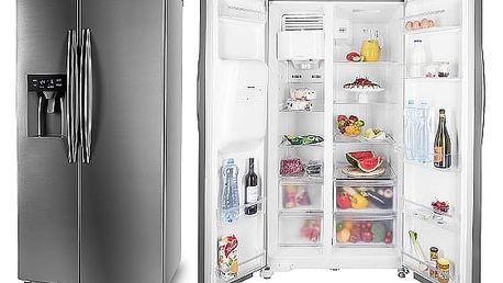 Kombinace chladničky s mrazničkou ETA 137190010 nerez + DOPRAVA ZDARMA