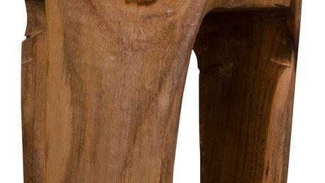 Stolička z teakového dřeva House Nordic Rose - doprava zdarma!