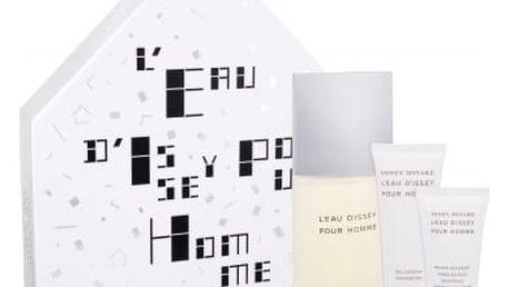 Issey Miyake L´Eau D´Issey Pour Homme dárková kazeta pro muže toaletní voda 125 ml + sprchový gel 75 ml + balzám po holení 50 ml