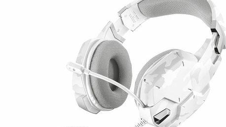 Mikrofon/sluchátka Trust GXT 322W White Camouflage