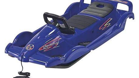 Boby AlpenGaudi AlpenDoubleRace plastové s volantem modré + Doprava zdarma