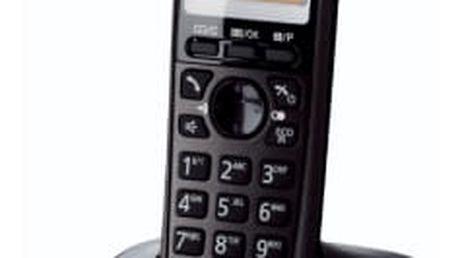 Domácí telefon Panasonic KX-TG2511FXT (KX-TG2511FXT) černý