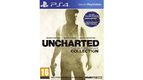 Hra PS4 Uncharted:The Nathan Drake Collection