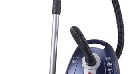 Vysavač podlahový Hoover A-CUBED SILENCE AC73_AC20011 modrý + DOPRAVA ZDARMA