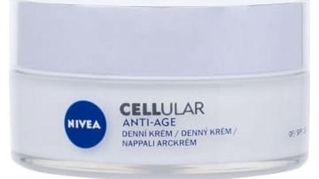 Nivea CELLular Anti-Age SPF15 50 ml denní pleťový krém proti vráskám pro ženy