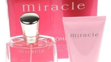 Lancome Miracle dárková kazeta pro ženy parfémovaná voda 50 ml + tělové mléko 50 ml