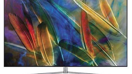 Televize Samsung QE49Q7 stříbrná + Doprava zdarma