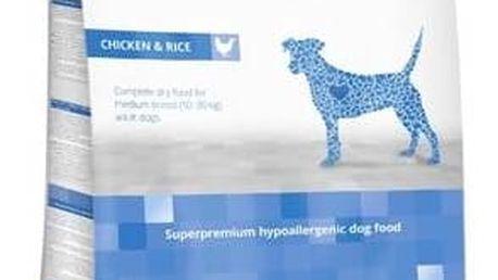 Granule Calibra Dog Hypoallergenic Adult Medium Breed Chicken 14 kg + Doprava zdarma