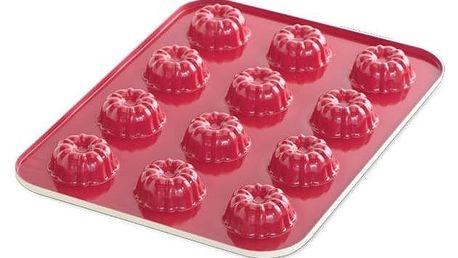 Nordic Ware Hliníková forma na pečení Mini Bites Červená, červená barva, modrá barva, zelená barva, multi barva, krémová barva, kov