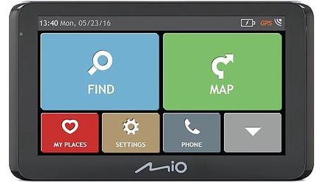 Navigační systém GPS Mio Spirit 8500 Full Europe Lifetime černá + DOPRAVA ZDARMA