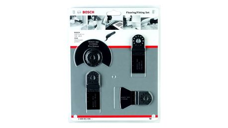 Sada příslušenství Bosch 4dílná pro oscilační brusky šedé