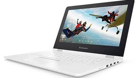 Notebook Lenovo IdeaPad YOGA 300-11IBR + office 365 na jeden rok zdarma (80M100SUCK) bílý + Doprava zdarma