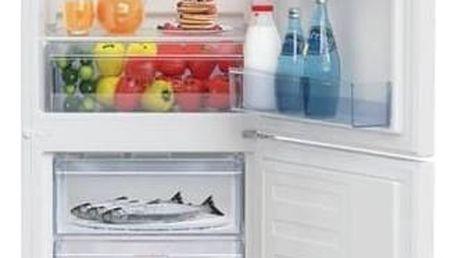 Kombinace chladničky s mrazničkou Beko RCSA 240 K20W bílá + Doprava zdarma