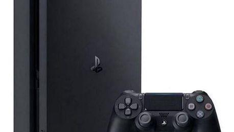 Herní konzole Sony PlayStation 4 Slim, D, 500GB, černá